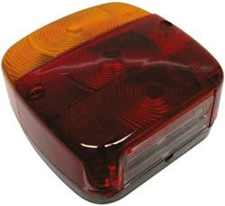 Achterlicht 4 functies E3-36687 12V 108x108mm