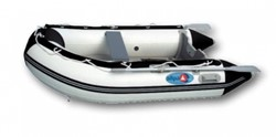Opblaasboot Allpa SENS330 Alum.bodem, wit/blauw