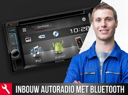 Automat Montagekaart Inbouw Autoradio Met Bluetooth