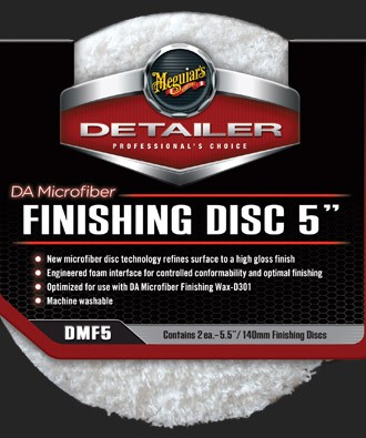 "DA Microfiber Finishing Pad 5"""" (2-pack) 6 x 2 stuks"