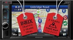 Kenwood DNX4150DAB-CX - 2 DIN Navigatie