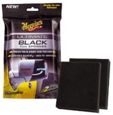 Meguiars Ultimate Black Trim Sponges 7.6x6.4x1.9cm, Set à 2 stuks