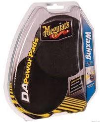 Meguiars Power Pads Waxing 4'' voor Dual Action Polisher, Set à 2 stuks