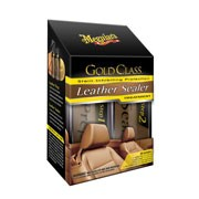 Meguiars Leather Sealer System (Prep 177ml/Sealer 177ml/Pad/Doek)