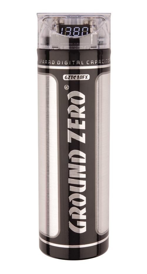 Ground Zero GZTC 1.0FX Condensator - Aangesloten - Geopende/beschadigde verpakking
