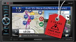 Kenwood DNX450TR - 2 DIN Navigatie