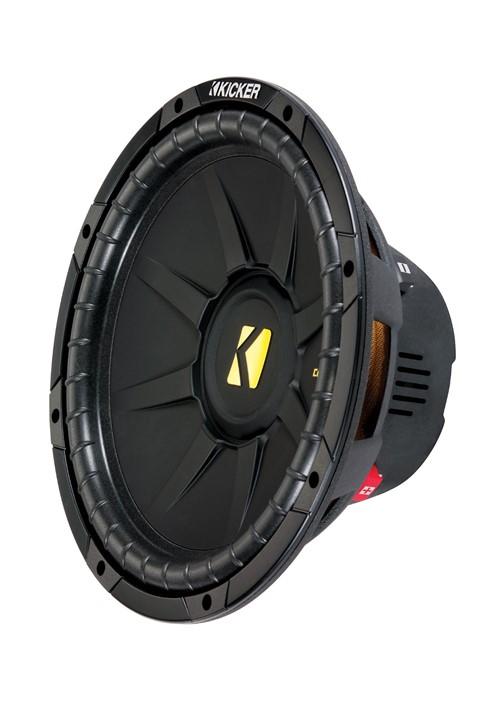 Kicker CompD122 Subwoofer - Aangesloten - Geopende verpakking