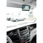 Ampire 5 inch/ full HD beeldscherm/plakvoet en zuignap 2x RCA/camera auto switch-2