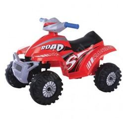 Accu-Auto Quad Rood - 6V - vanaf 3 jaar