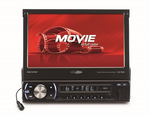 "Caliber USB/SD/AUX IN/BT/Touch 7"""" Motorized"