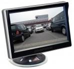 Ampire 5 inch/ full HD beeldscherm/plakvoet en zuignap 2x RCA/camera auto switch