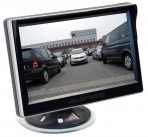 Ampire 5 inch/ full HD beeldscherm/plakvoet en zuignap 2x RCA/camera auto switch