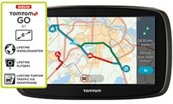 TomTom Go 61 World + free LTM, LTT en LTF