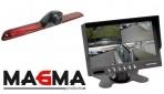 Complete camera set MA-KV-Sprinter met 7 inch quad scherm/15 meter kabel