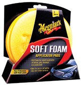 Meguiars Soft Foam Applicator Pads - Diameter 10.2cm, Set à 2 stuks