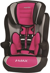 ISOFIX Autostoel Nania LUXE iMax SP Grijs, Roze
