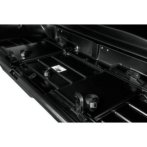 Zomer-/Winterbox Xtreme 500 Liter Zwart metallic 225x83x39cm-2