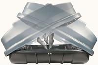 Zomer-/Winterbox Xtreme 600 Liter Dubbelzijdig Zwart metallic 200x100x46cm-3