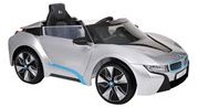 E-Car BMW I8 Zilver met remote
