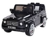 E-Car Mercedes-Benz G55 Zwart