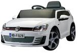 E-Car VW Golf GTI Wit