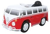 E-Car VW Bus Rood