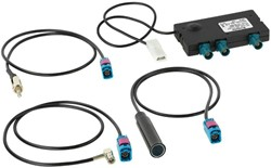 KIT UNIVERSAL DAB+-AM/FM SPLITTER + ADAPTERS