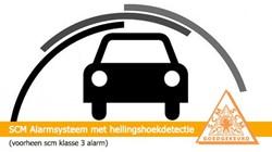 Inbouw alarmsysteem met hellingshoekdetectie (klasse 3)