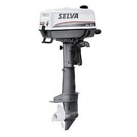 058358 Selva BB-motor Sea Bass 4-Takt Type SI.C.  4 pk  Handstart