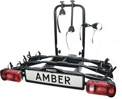 Amber II Trekhaak fietsendrager voor 2 fietsen