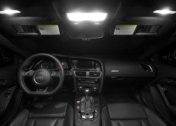 Audi A5 coupe LED binnenverlichtingspakket - Basis-pakket