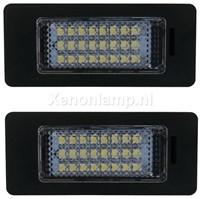 Audi LED kenteken verlichting unit - Wit-1