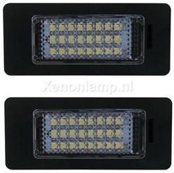 Audi LED kenteken verlichting unit - Wit