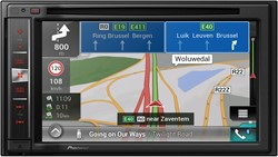 2 DIN DVD Navigation with special software for Campers and Trucks, dual Camera inp