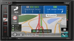 2 DIN DVD Navigation. Expanded Navi functionality and special Camper and Truck software, DAB Tuner, dual Camera inp.