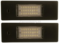 BMW E87 LED kenteken unit