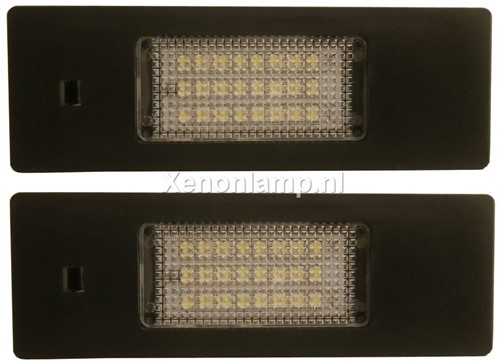 BMW E87 LED kenteken unit-1
