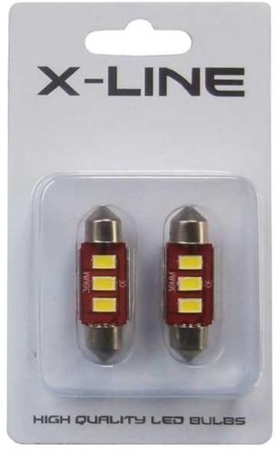 C5W 36mm 3HP LED Canbus 2.0 kentekenverlichting - wit-2