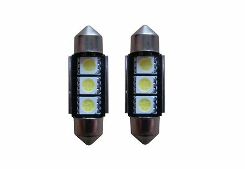 3 SMD LED kentekenverlichting 36mm C5W