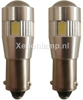 Canbus LED achteruitrijverlichting 6 HighPower BAY9s / H21w - wit-1