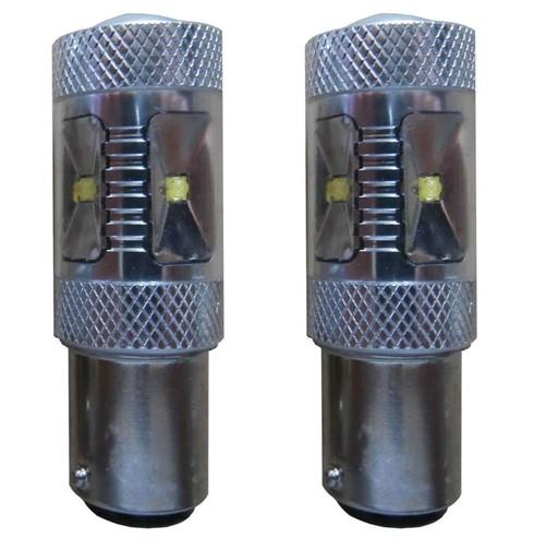 30w Canbus LED BA15s dagrijverlichting vervangingslamp - wit