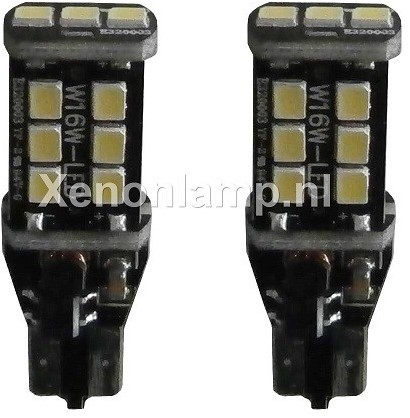 Canbus LED knipperlicht 15 SMD T15 / W16W-1