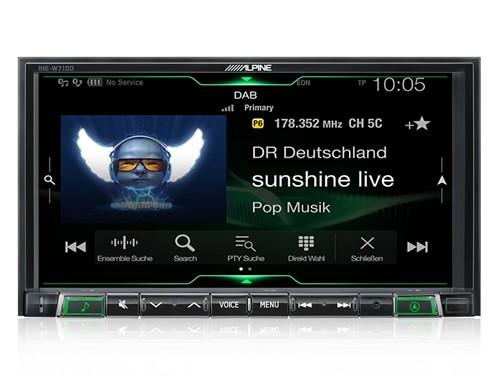 """Alpine ILX-702D - 7"""""""" Multimediasysteem"""