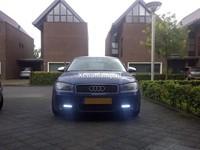 6 HighPower LED dagrijverlichting chrome-3