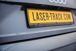 LaserTrack Flare kentekenplaat transponder (single)