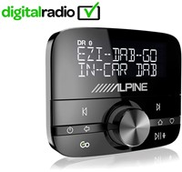 Alpine EZI-DAB GO- DAB add-on ontvanger