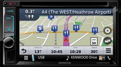 Kenwood DNX5170BTS Navigatiesysteem