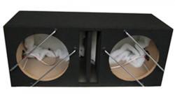 Bass Reflex Behuizing 2x 12 inch (30cm)