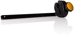 S10663 Frameklem inclusief stang zwart