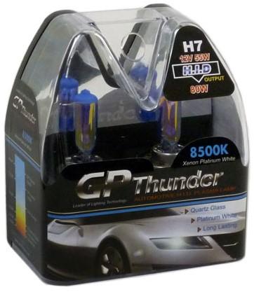 GP Thunder 8500k H7 55w Xenon Look - blauw-1